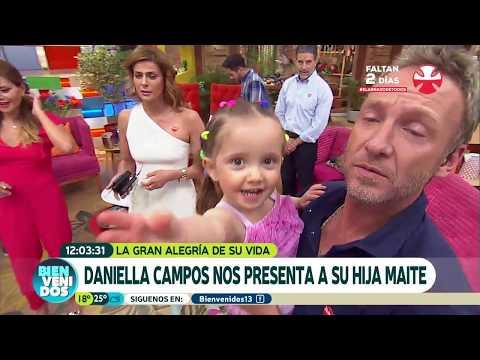 ¡Hija de Daniella Campos revolucionó el estudio! | Bienvenidos