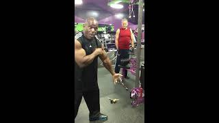 "Vince Taylor introducing his New Powerballz-50 training system and  PBz-50 ""Smart Grips""."