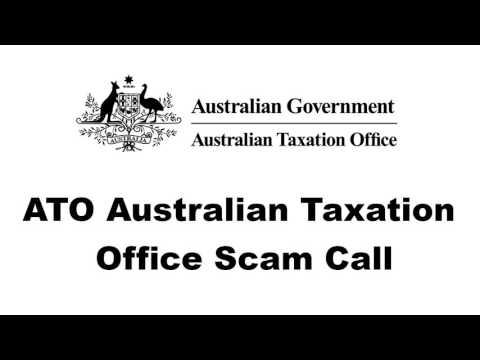 ATO Australian Taxation Office Scam Call