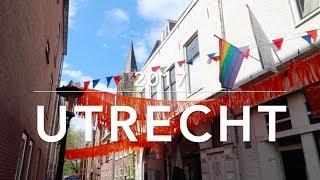 Gambar cover Utrecht, the Netherlands: Koningsdag, herring and poffertjes