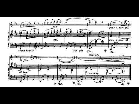 Amy Beach - Three Pieces for Violin and Piano, Op. 40 (1898) [Score-Video]
