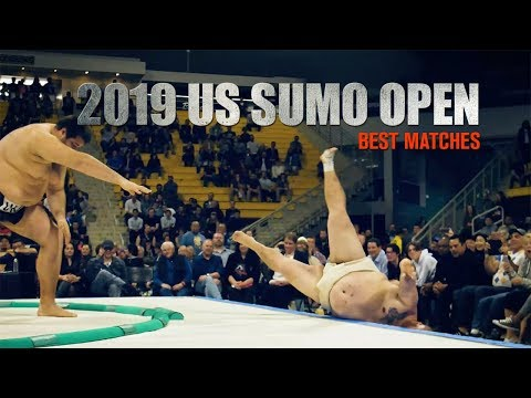 2019 US SUMO OPEN - Best Matches with commentary