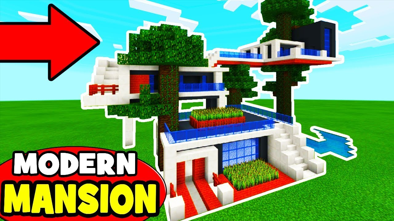 Minecraft Tutorial: How To Make A Modern Jungle Treehouse ...