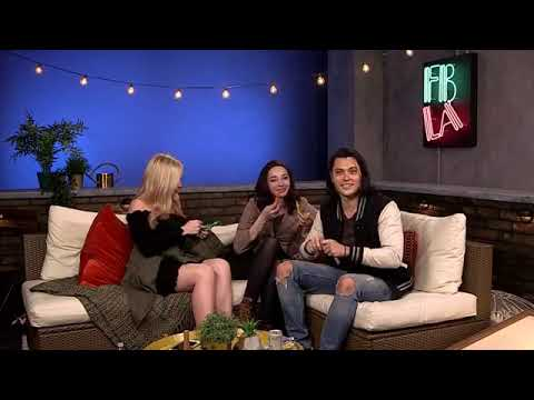 The Gifted Facebook live video with Natalie Alyn Lind Emma Dumont and Blair Redford