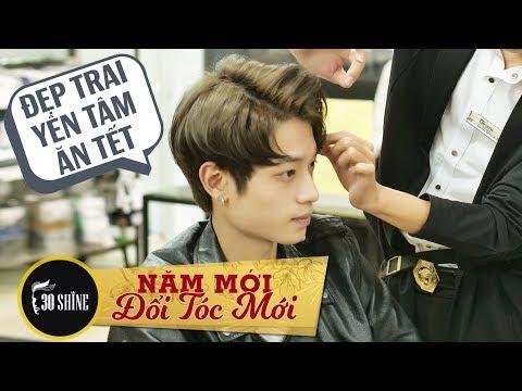 30Shine   Nói gì với thợ cắt tóc để có kiểu tóc đẹp ăn tết P3   Bí Quyết Đẹp Trai 168