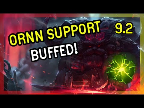 ORNN SUPPORT GOT BUFFED - LEAGUE OF LEGENDS - Season 9 thumbnail