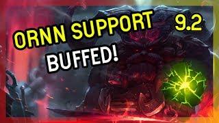 ORNN SUPPORT GOT BUFFED - LEAGUE OF LEGENDS - Season 9