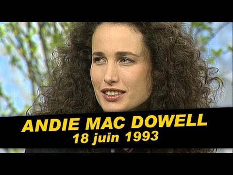 Andie Mac Dowell est dans Coucou c'est nous - Emission complète