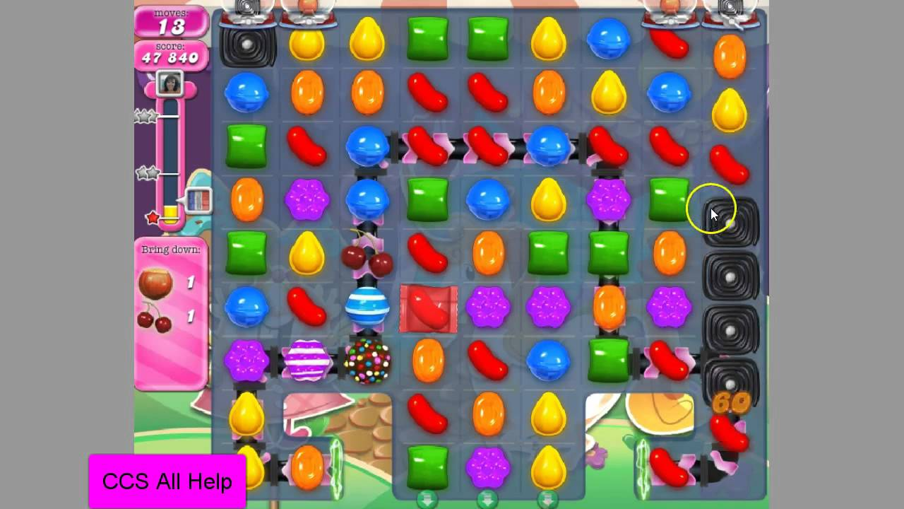 how to pass candy crush level2530