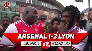 Arsenal 1- 2 Lyon | I'm Confident We Will Get Top Four!