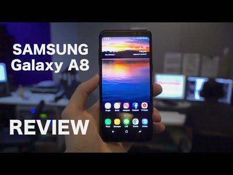รีวิว Samsung Galaxy A8 ( review ) เรือธง 80%!!!