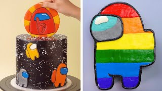 AMONG US Cake #2 | The Most Beautiful Cake Decorating Tutorials | Perfect Cake Recipes