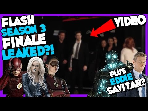 Flash Season 3 Finale Info Leaked? Plus Eddie is Savitar?