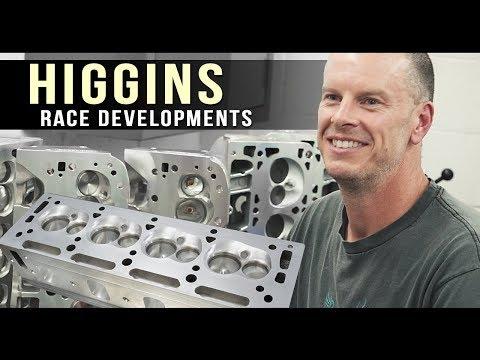 Inside Higgins Race Developments