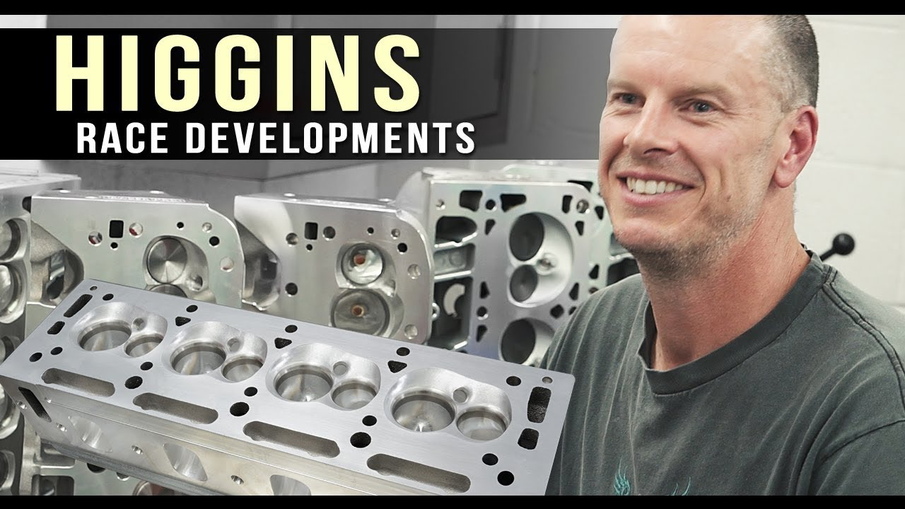 Cylinder Heads - Higgins Race Heads - LSX Performance Parts