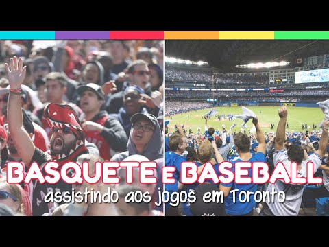 #14 - Basquete e Baseball em Toronto | Vem Canadá