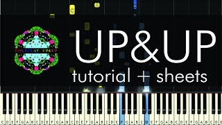 Up&Up - Piano Tutorial - How to Play - Coldplay