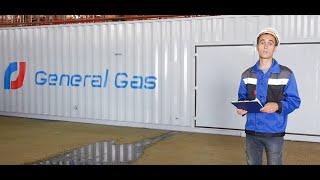 Модульная азотная станция в 40 футовом контейнере для компании ''Данафлекс''