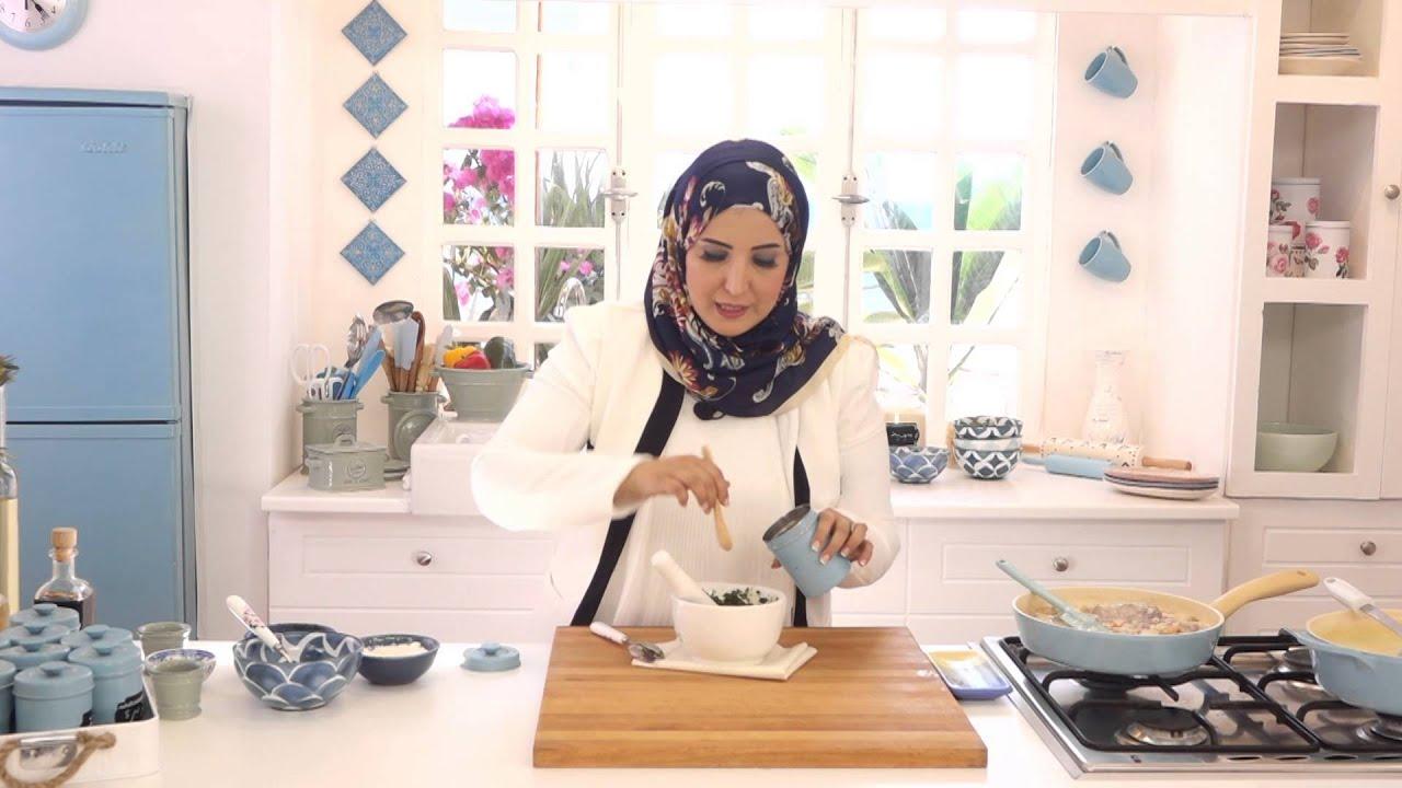 رولات اللحم بالصلصة البيضاء وشوربة البطاطس ببيستو الكزبرة مع اسيا عثمان في مطبخ اسيا (الجزء الثاني)