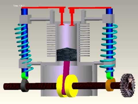 working of 4 stroke engine pdf