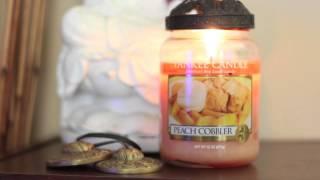 Yankee Candle Peach Cobbler Review