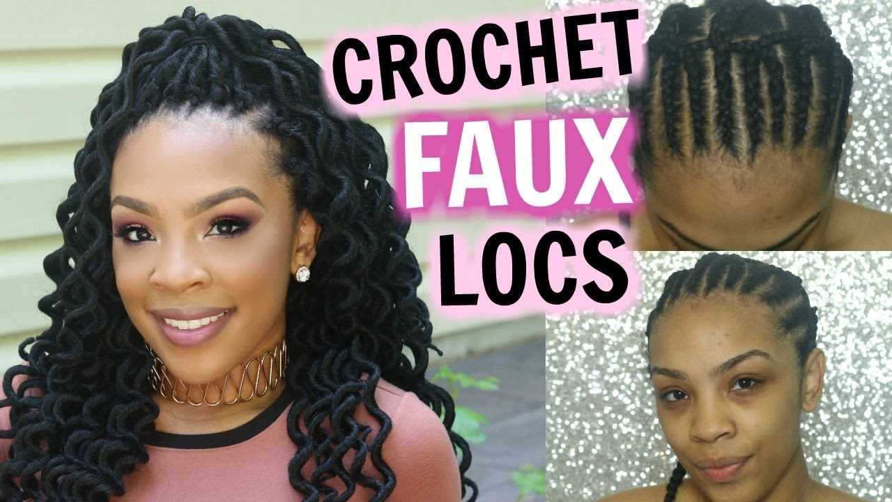 How To  Crochet Faux Locs Tutorial & Review