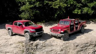 Off-Road Comparison: Can the Gladiator Rubicon Dethrone the Colorado ZR2?