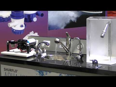 SHURFLO Aqua King II High-Flow Fresh Water Pump