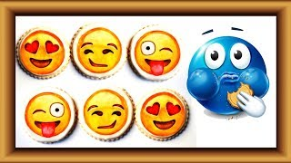 Animated Emoticons Eating cookies| Having Fun with Fruits | Lotusbaby TV