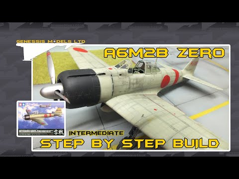 Tamiya : Mitsubishi A6M2b Zero Fighter : 1/32 Scale Model : Step By Step Video Build : Episode.1