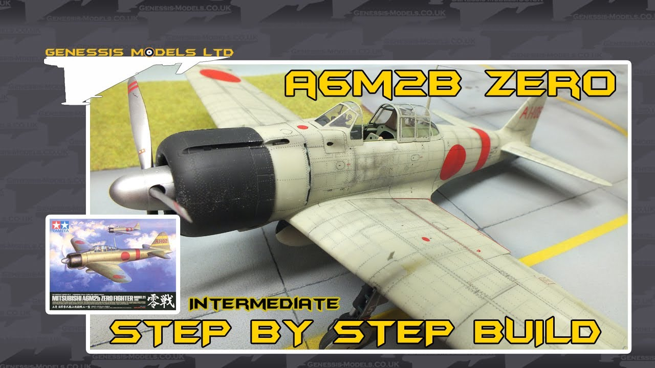 Tamiya   Mitsubishi A6M2b Zero Fighter   1 32 Scale Model   Step By     Tamiya   Mitsubishi A6M2b Zero Fighter   1 32 Scale Model   Step By Step  Video Build   Episode 1   YouTube