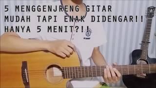 Gambar cover Belajar Genjrengan Gitar SIMPLE tapi ENAK!!!