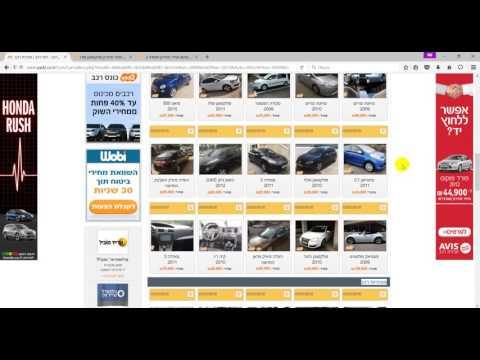 Цены на новые и поддержанные  автомобили в Израиле, смотрим и выбираем.
