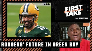 Aaron Rodgers wants the Packers to 'crumble' & won't play in Green Bay again - Keyshawn