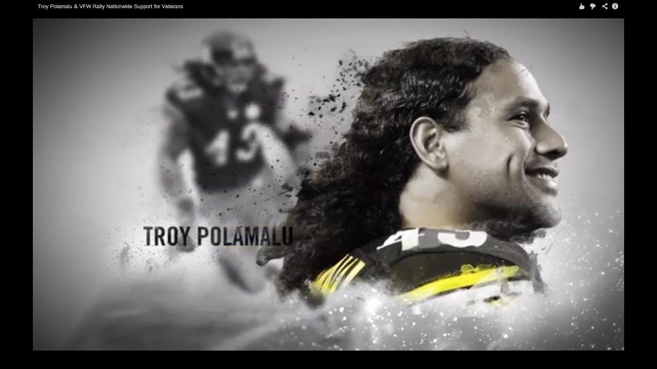 Troy Polamalu Haircut 2019