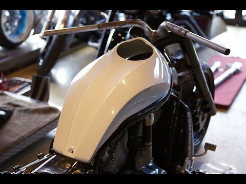 Build custom v Rod Harley