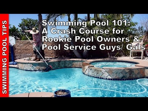 Swimming Pool 101: A Crash Course for Rookies