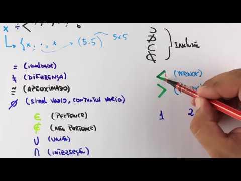 Símbolos Importantes na Matemática - Parte 02