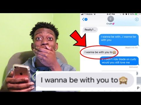 "Lyric Prank On CRUSH ""LOVE"" Kendrick Lamar"