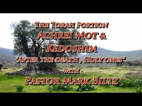 Saturday,  April 28, 2018: After death (Acharei Mot) / Holiness (Kedoshim)