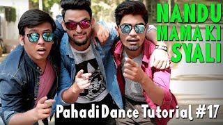 Nandu Mama Ki Syali | Pahadi Dance Tutorial#17 |ABLIVE