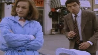 Lady and Pram | Funny Clip | Mr. Bean Official