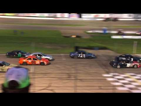 Six Shooter Feature on Madison Int'l Speedway Inner Track