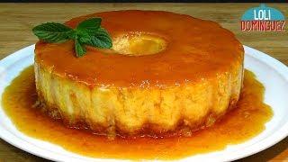 Tarta de queso cremoso con bizcocho (Flancocho) - Recetas paso a paso, tutorial. Loli Domínguez