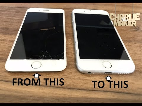 How to replace a cracked iPhone 6s screen!