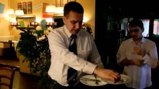 Техника уборки посуды