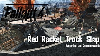 Fallout 4 Red Rocket Truck Stop - Power Armor Storage