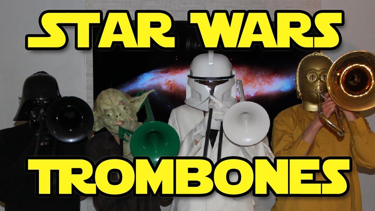 star wars trombones youtube. Black Bedroom Furniture Sets. Home Design Ideas