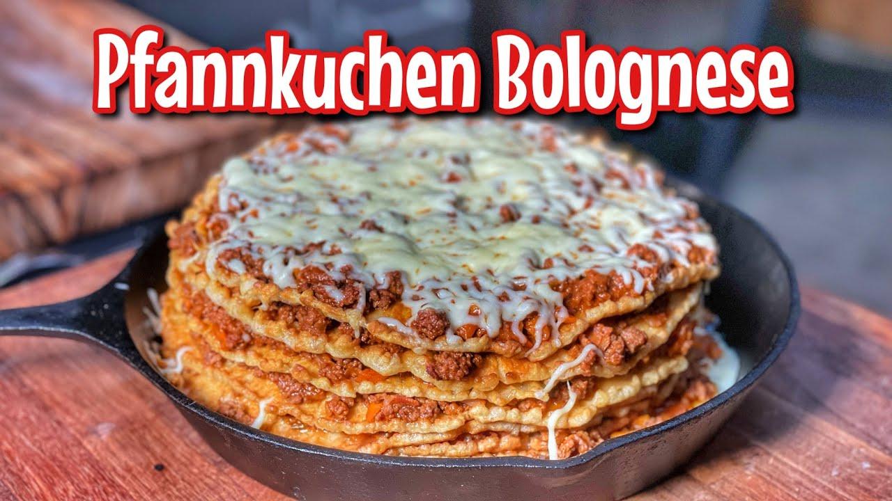 Pfannkuchen Bolognese - Westmünsterland BBQ