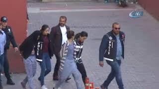 Kayseri de Narkotik Operasyonunda Gözaltına Alınan 11 Kişi Adliyeye Sevk Edildi